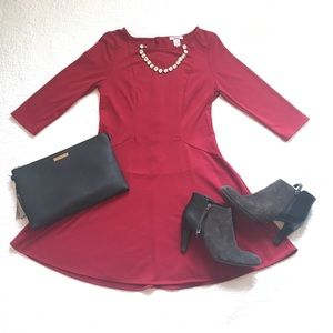 Super Cute Bar III Red Dress